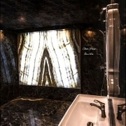 Pierre design wc - MAISON EN PIERRE D'ONYX